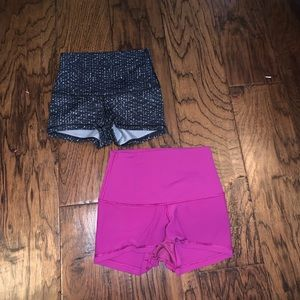 Lulu lemon shorts!! Size 2